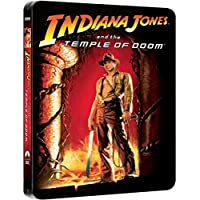 Indiana Jones and the Temple of Doom Bluray Steelbook - Zavvi Exclusive