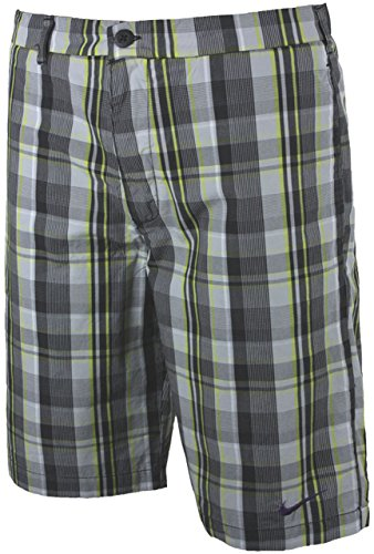 Plaid Woven Shorts (Nike Sideline Woven Tracksuit Athletic Department, 100% Baumwolle Black Plaid 481498-010 Woven Short)