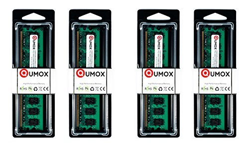 QUMOX 8GB(4X 2GB) DDR2 800MHz PC2-6400 PC2-6300 DDR2 800 8 GB (240 PIN) DIMM Desktop Memory - Ddr2-cas Latency