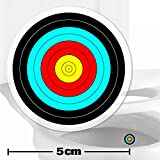 2-x-Archery-Toilet-Target-Stickers-5cm-Wide-Cleaner-BathroomRestroom-Floor-In-A-Flash-With-No-Cleaning-Products-Helps-Improve-Aim-And-Hit-The-Target-ToiletPottyUrinal-Training-Aid-Aiming-Reward-Suitab