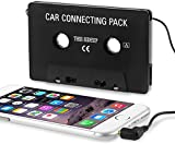 Car Audio Cassette Adapter for Apple iPhone 4 16GB / 32GB, Black