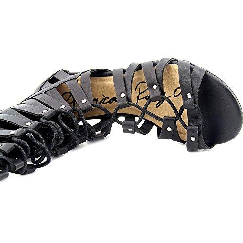 American Rag Maya Femmes Synthétique Sandales Gladiateur Black