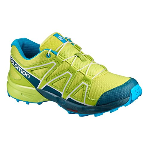 Salomon Speedcross J Lime Punch Reflecting Pond Hawaiian Ocean lime / türkis