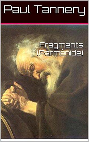 Fragments (Parménide)