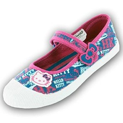 Hello Kitty, Ballerine bambine, blu (Blue), 42