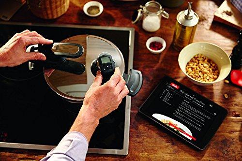 Fissler Schnellkochtopf Edelstahl vitavit premium  – 4.5 L Dampfkochtopf 22 cm Durchmesser – inkl. vitacontrol digital Kochassistent - 3