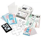 Sizzix 660341Big Shot Plus Starter Kit, weiß & grau