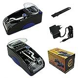 Hibron Machine à cigarettes électrique avec tubes à rouler Portable Haute qualité 58003 AZUL