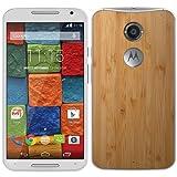 Motorola Moto X -2*Generation Smartphone Orange Entriegelt Android (Bildschirm 5.2 13MP Kamera, Quad-Core 2,5 GHz, 16 Gb,2 GB RAM), Bambus Weiß