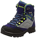 Alpina Unisex-Kinder 680358 Trekking-& Wanderstiefel, Blau (Blau), 25 EU