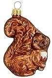 Hamburger Weihnachtskontor - Weihnachtsbaumschmuck aus Glas -Eichhörnchen