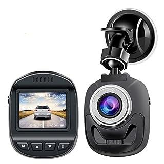 Dash-Cam-Mini-Autokamera von Accfly für das Armaturenbrett, HD 1080P Video-Recorder bei der Fahrt, mit 3,8cm Bildschirm und 120° Weitwinkel, WDR, Bewegungserkennung, Schleife, Aufnahme, G-Sensor