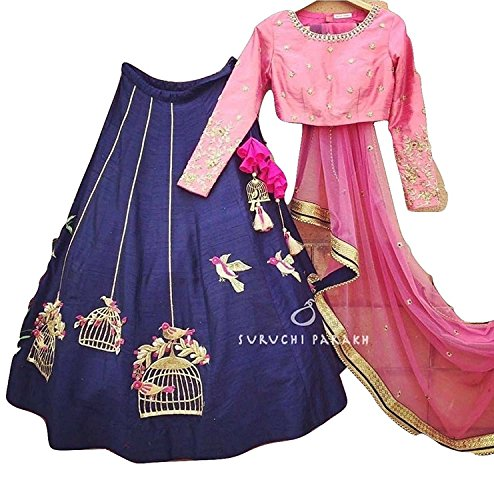 lehenga choli for women party wear ( HK Textile lehenga choli for wedding function salwar suits for women gowns for girls party wear 18 years latest sarees collection 2017 new design dress for girls designer sarees new collection today low price new gown for girls party wear)