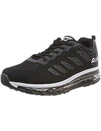 Unisex Herren Damen Sneakers Sportschuhe Bequeme Laufschuhe Schnürer Air Running Shoes 35-45