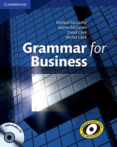 Grammar for Business with Audio CD by Michael McCarthy (2009-12-14)