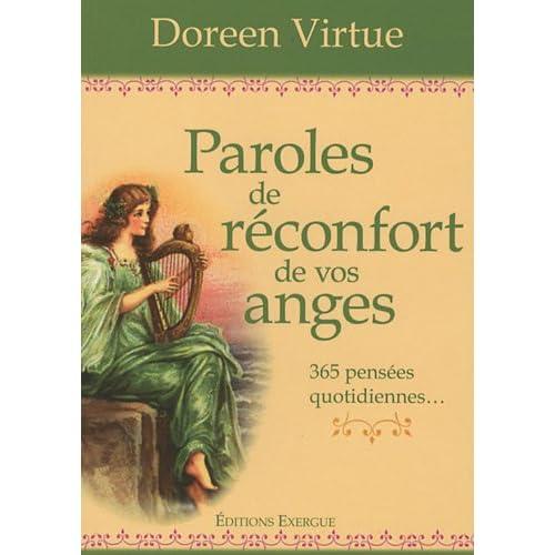 Paroles de réconfort de vos anges : 365 pensées quotidiennes