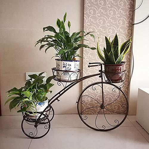 JIANDAN Wasserpflanze, Blumenständer, Wohnzimmerdekoration, Balkon, Bodenstehender Topfständer, Topfpflanze, Kräuterpflanzen, Blumenständer, Innen- Und Außenbereich, Retro-Stil