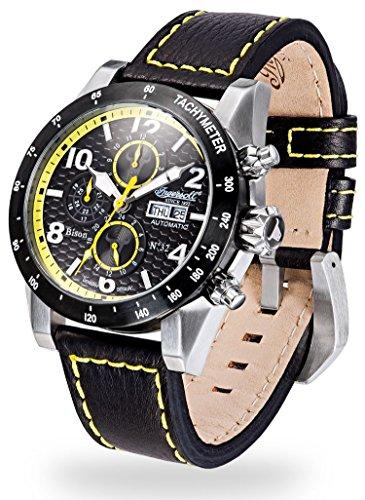 Ingersoll Gents Watch - Bison N0.62 - IN1407BKYL