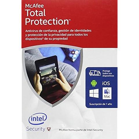 McAfee Total Protection 2016 - Software De Seguridad, Dispositivos Ilimitados
