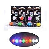 8pezzi LED collare ciondolo luce luce a per cani LH6blinkie LED Rimorchio