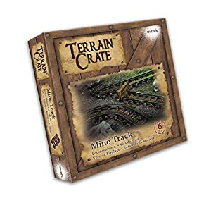 Mantic Games MGTC120 TerrainCrate: Mine Track, Multi vídeo Juego