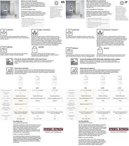 Stiebel Eltron elektronisch geregelter Mini-Durchlauferhitzer DEM 3 - 9