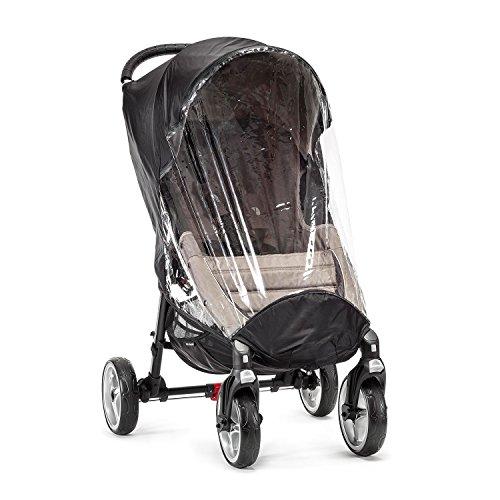 Baby Jogger BJ91051 City Mini Wetterschutz für Vierradwagen, transparent