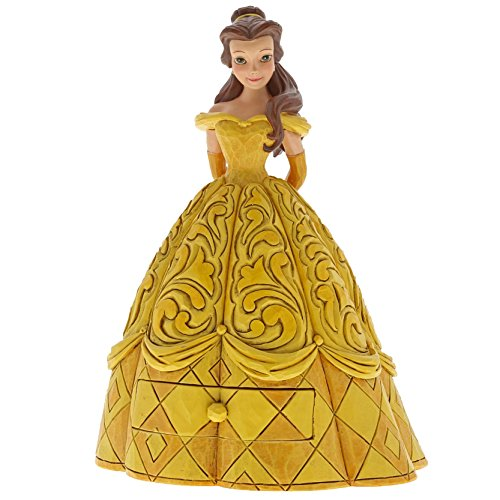 Disney Traditions Belle Treasure Keeper Figurine - Schmuck Disney Princess Belle