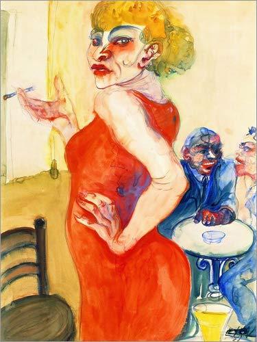 Posterlounge Alu Dibond 100 x 130 cm: Lissy von Elfriede Lohse-Wächtler