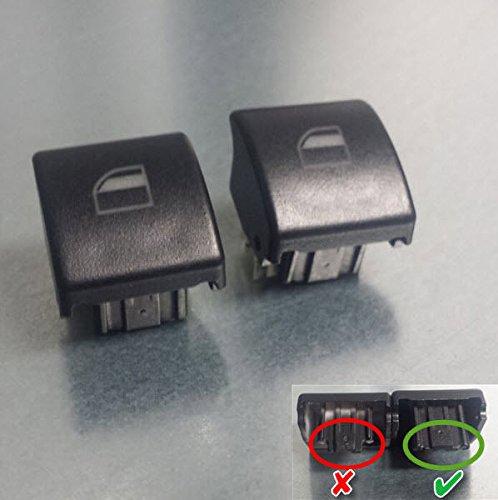 2 Stück Fensterheber Schalter Taster Fensterheberschalter Taste für BMW 3er e46