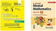 28 Mock Test Series for Olympiads Class 2 Science, Mathematics, English, Logical Reasoning, GK & Cyb&S