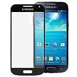 Vetro Frontale Ricambio Ricambio Display Touch Vetro Frontale per Samsung Galaxy S4 Mini GT-I9195 Vetro Vetro LCD Finestra Nera