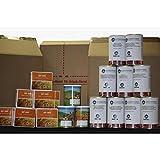 Grundnahrungsmittel: 360 Tagepaket – Lebensmittelvorrat – Beste Familien & Eigenvorsorge, optimal für Krisenvorsorge, Langzeitnahrungsmittel, Notvorrat, Garantie über MHD 15 Jahre. (ab sofort ohne Himalayasalz) - 3