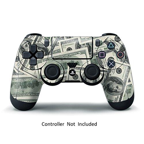 Gamexcel ® sony ps4 controller della pelle - custom playstation 4 remoto del vinile - playstation 4 joystick decalcomania - big ballin [controller non incluso]