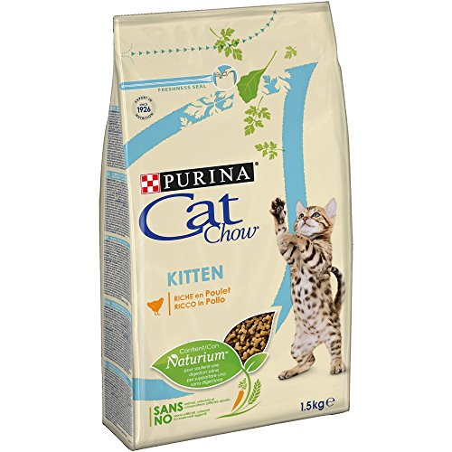 Purina Cat Chow Gato Junior Pollo 6 x 1,5 Kg