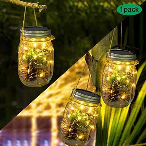 Zoom IMG-4 lampada solare barattolo luce mason