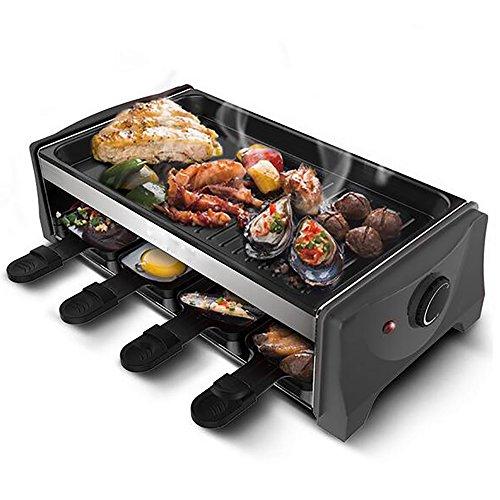 Infrarot Gas Burner Rauchlose Elektrische Kochplatte Kebab Maschine Einstellbare Temperatur 1300 Watt Haushalt Nicht Stick Barbecue Grill (Pan Infrarot)
