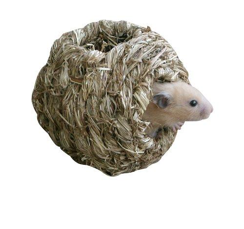 Kerbl Nichoir en Herbe pour Hamster 10,5x10,5x10,5 cm