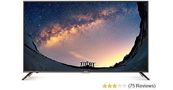 c0f3687bdc9 Philips 109.3 cm 4K UHD LED Smart TV 43PUT7791 V7  Amazon.in  Electronics