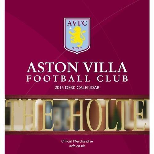 2015 Desktop Calendar - Aston Villa F.C