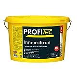 ProfiTec P132 Innensilicon 12,5l weiss