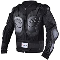 AKAUFENG MTB Protektor Motorrad Schutzkleidung Protektorenhemd Protektorenjacke Motorrad L-5XL