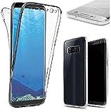 HINUOR Samsung Galaxy S8 Handyhüllen Durchsichtig - Flexible Samsung Galaxy S8 Hülle Silikon - Ultra Dünn Schutzhülle Transparent TPU Case Cover Handyhülle Für Samsung Galaxy S8