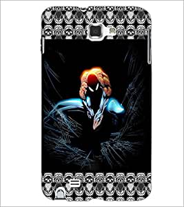 PrintDhaba Spider Man D-5695 Back Case Cover for SAMSUNG GALAXY NOTE 1 (Multi-Coloured)