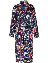 Pip Studio 260208300003 Peignoir Chinese Garden Coton/Velours Bleu S