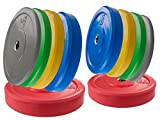 Profi Bumper Plate Set SQMIZE® CBP150 Training - 150 kg
