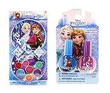 #10: Disney Frozen Beauty Bundles For Kids - 2 Items : Disney Frozen Nail Polish - Two Pack, Disney Frozen Lip Gloss Kit
