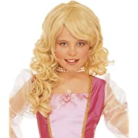 Blonde princess wig for girls (peluca)