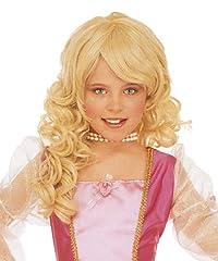Idea Regalo - WIDMANN B6291 - Parrucca bionda da Principessa Bambina
