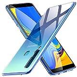 Peakally Coque Samsung A9 2018, Ultra Fine TPU Silicone Transparent Souple Housse Etui Coque pour Samsung A9 2018, Adhérence Parfaite/Anti Rayures/Anti-Scratch-Transparent